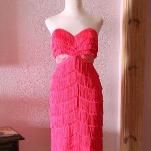 Audrey fringe dress