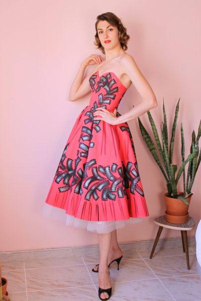Erika handpainted dress