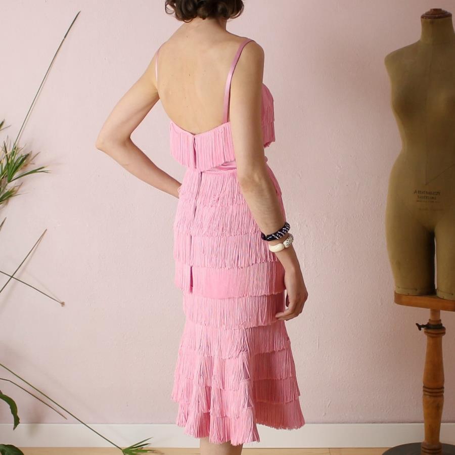 Vestido de flecos Carmen -