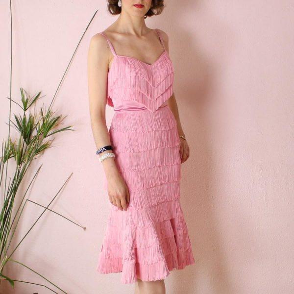Carmen fringe dress