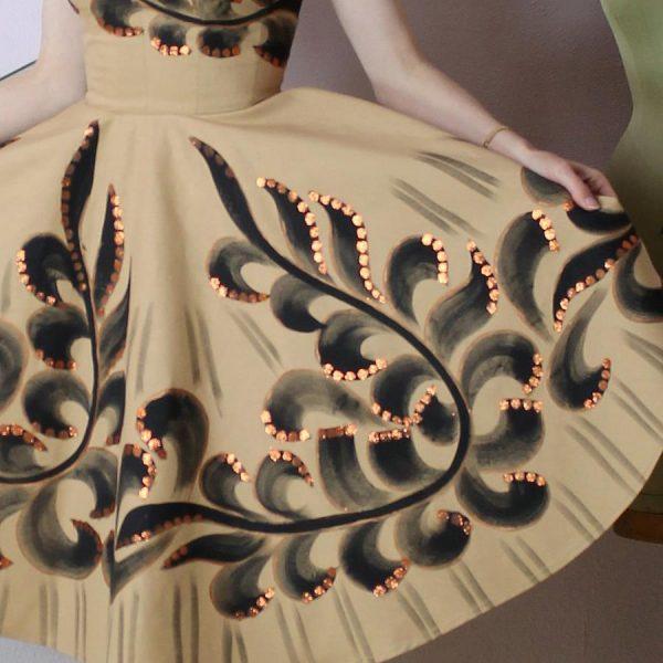 Petra handpainted dress